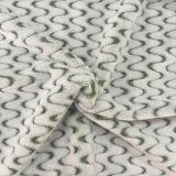 100% Polyester Curve Jacquard Flannel Fleece