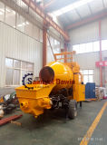 Completely Diesel Power Concrete Mixing Pump with 20m3/Hr Mixing Capacity