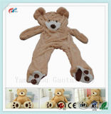 "78"" (6.5 Feet) Giant Teddy Bear Cover Unstuffed Skin Toy (Only Outer Shell with Zipper) 200cm"