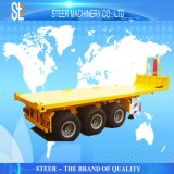 3 Axle Container Chassis Semi Truck Flatbed Trailer