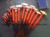 Copper Alloy Non Sparking Sledge Hammer with Fiber Handle