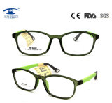 Oval Eyewear Soft Comfortable Silicone Eyeglasses Frame Kids Optical Frames Baby Eye Glasses (TR1313)