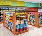 Dark Wholesale Double-Sided Display Supermarket Rack, Convenience Store Shelf