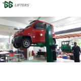 Movable single post car service lift car lift 1 post with hydraulic