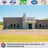 Modular Steel Structure Prefab Building Construction with Good Decoration