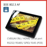 Touch Screen Tablet PC with Cvbs and Serial Port