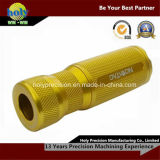 CNC Lathe Turning Rod with Knurling CNC Brass Parts
