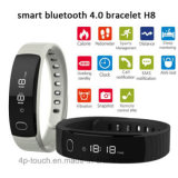 Wholesale Bluetooth Smart Silicone Bracelet with Alarm Clock Pedometer H8