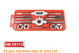 12PCS Plastic Box Packed Machine Tap & Die Set (GM-TD173)