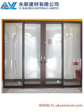 Popular Factory Price Aluminum Door for Interior Used