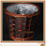 Rattan Willow Wicker Flower Basket