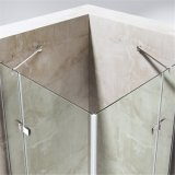 Hinge Tempered Glass Double Doors Design Shower Rooms
