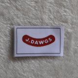 Low MOQ Best Price Woven Labels for Apparel Accessories
