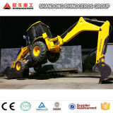 Backhoe Loader with Price 8ton Mini Tractor Backhoe Loader