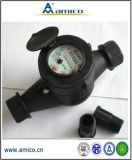 (A) 2015 Best Sell Amico Factory Multi Jet Dry Type Plastic Water Meter
