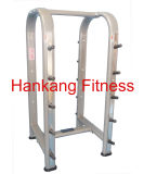 Gym Equipment, Fitness, Body Building, Hammer Strength, Horizontal Barbell Rack (HP-3059)