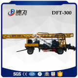 300m Multi-Functional Trailer Mounted Water Well Borehole Drilling Machine