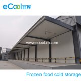 Middle Sized Cold Storage for Frozen Food Storage