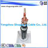 Cu Overall Screened/XLPE Insulated/PVC Sheathed/Armoured/Instrument Cable