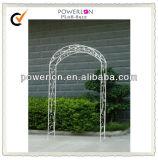 Antique White French Garden Wedding Arch