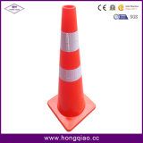 36 Inch Safety Cone Full Fluorescent Orange PVC