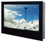 IP65 Tempered Glass Waterproof TV for Bathroom/Kitchen/Hotel