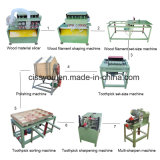 Factory Bamboo Wood Toothpick Cutting Toothpicks Making Polishing Production Machine