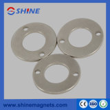 Professional NdFeB Magnetization Ring Magnet (Coating Ni)