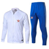 17-18 Latest Design Top Quality Mens Soccer Tracksuit/Soccer Jersey Wholesale