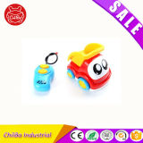 Smile Face Plastic Toy Electric Car for Kids Have Fun