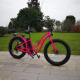 26inch 500W Fat Tire Electric Bike for Woman
