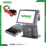 15inch POS System Cash Register All in One Touch Screen Computer for Retails and Restaurant Dual