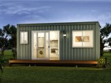 Prefabricated 40hq/20gp Shipping Container House as Living Home