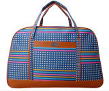 Three Colors Plaid Large Capacity Handbag Duffel Bag Travel Backpack