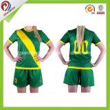 Various Green Colors Custom Jersey Football Soccer Shirt for Women Unisex