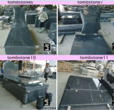 Discount Polished G654 Black Color Granite Slab for Paving, Tombstone