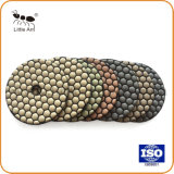 Factory Direct Sell 3′′ Dry Polishing Pad for Concrete