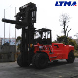 35 Ton Large Power Hydraulic Diesel Forklifts with Coil Ramp Attachment