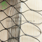 Stainless Steel Wire Rope Zoo Aviary Mesh