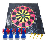 PVC Family Garden Inflatable Floor Dart Game Mat Pad Toys