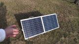 Folding Solar System Kit 80W for Camping with Motorhome