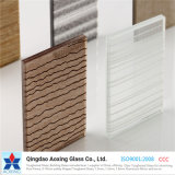 Hot Sale 6.38mm Building Safety Fabric Laminated Glass