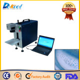 30W Cheap CNC Fiber Laser Marking Machine for Plastic
