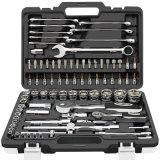 Professional CRV Hand Tools 82PCS Tool Set Mechanical Tool Kit