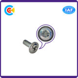 Steel Galvanized Cross Pan Head Screws for Furniture with Gasket/Washer