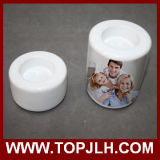 China Wholesale Sublimation Blanks Ceramic Candle Holder