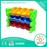 Children Plastic Toy Assorting Shelf in Cat Design with CE/ISO Certificate