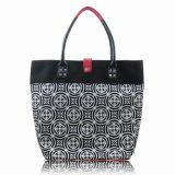 Floral with PU Leather Design of Functional Handbags for Womens