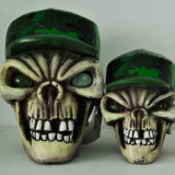 Resin New Human Skull Heads Model for Halloween Deco