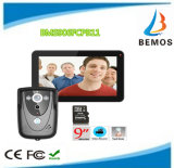 """9"""" DVR Color Touch Screen Video Doorphone with PIR Record Intercom System"""